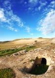 Domus de janas en Sardaigne images libres de droits