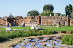 Domus Flavia at the Palatine Hill Royalty Free Stock Photo