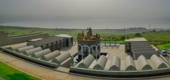 Domus Galilaeae ( Camera di Galilee) Monastero Fotografia Stock Libera da Diritti