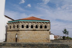 The Domus Municipalis, Braganca Stock Photos