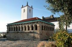 Domus Municipalis dans la ville antique de Braganca Photographie stock libre de droits