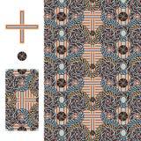 Domus Romana Palazzo Valentini cross seamless pattern Stock Photography