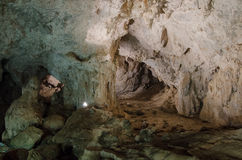 Domusnovas, Grotta di San Giovanni Stock Photos