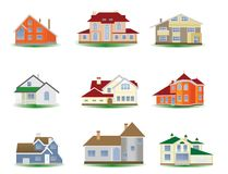 domy Obraz Stock
