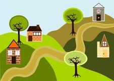 domy zdjęcie royalty free