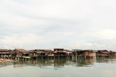 Domy budujący na wodzie Fotografia Stock