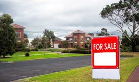 Domy dla sprzedaży, realestate pojęcie Obraz Royalty Free