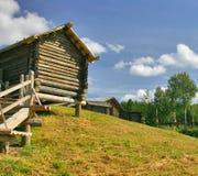 domy drewniany Obraz Royalty Free