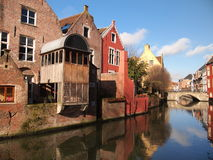 Domy Ghent, Belgia (,) Zdjęcia Stock