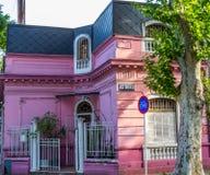 Domy i architektoniczne cechy zdjęcia stock