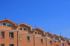 domy komunalne obrazy stock