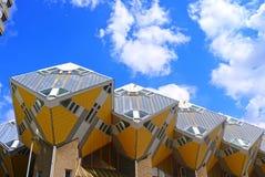 domy kubiczni Rotterdamskiej Fotografia Stock
