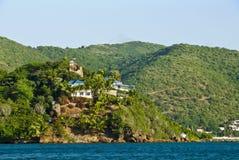 domy luksusowy nadbrzeża obrazy stock
