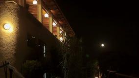 Domy na skłonach wzgórza, wille i dwory, Cala Mendia Mallorca święta bożego miasta wróżki Łotwy nocy prowincjonału podobnej wkrót zbiory wideo