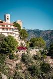 Domy na wzgórzu w Savoca wiosce, Sicily, Włochy zdjęcie stock