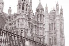 Domy parlament, Londyn, Anglia zdjęcie royalty free