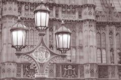 Domy parlament w Londyn Fotografia Royalty Free