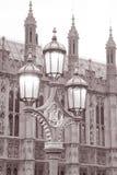 Domy parlament w Londyn obrazy royalty free