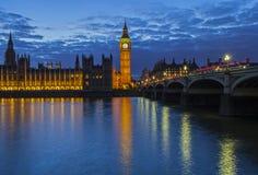 Domy parlament w Londyn Zdjęcia Stock