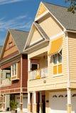 domy projektują victorial Zdjęcie Royalty Free