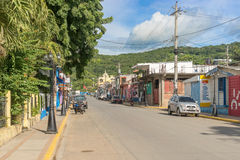 Domy przy San Juan Del Sura w Nikaragua Fotografia Stock