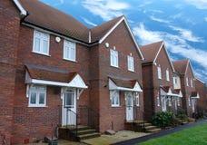 domy tarasowali Zdjęcie Royalty Free
