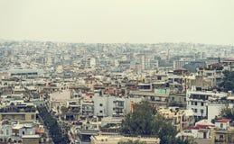 Domy w Ateny, Grecja fotografia stock