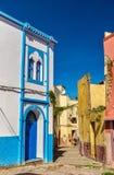 Domy w Azemmour miasteczku, Maroko Zdjęcie Stock