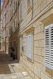 Domy w Dubrovnik zdjęcie royalty free