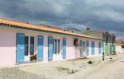 Domy w francuskiej wiosce Obrazy Stock