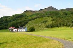 Domy w Iceland Zdjęcie Royalty Free