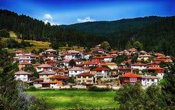 Domy w Koprivshtitsa zdjęcie stock