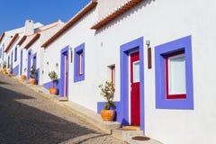 Domy w Odeceixe wiosce obrazy royalty free
