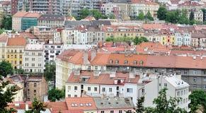 Domy w Praga Zdjęcia Royalty Free