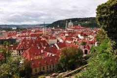 Domy w Praga obraz royalty free