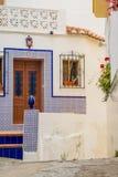 Domy z typowymi kolorami domy Andalusia jeden dzień lato Obrazy Stock