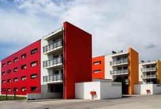 domy zbudowane nowo Obrazy Stock