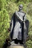 Don Alfonso Henriques Statue - Lissabon, Portugal royaltyfri bild