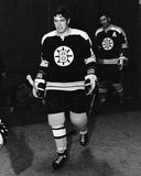 Don Awrey, Boston Bruins. Royalty Free Stock Images