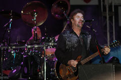 Don Barnes of .38 Special band. Don Barnes, songwriter, performer, guitarist, instrumentalist, talented rock-and-roll entertainer from the band called .38 Stock Photo