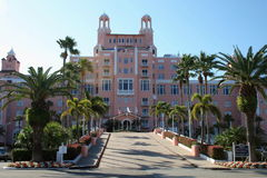 Don Cesar Hotel royalty free stock images