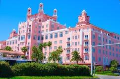 Don Cesar Resort im Heiligen Pete Beach Florida Stockfotos