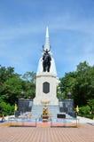 Don Chedi Monument, Suphan Buri Fotografie Stock Libere da Diritti