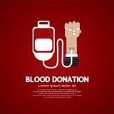 Don du sang. Image libre de droits