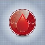 Fond de don du sang. Photographie stock libre de droits