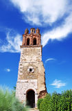 Don Francisco tower in Zafra, Extremadura region Royalty Free Stock Image