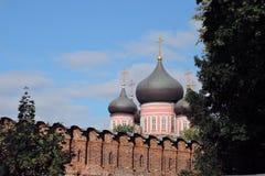 Don Icon-Kloster in Moskau Stockfoto
