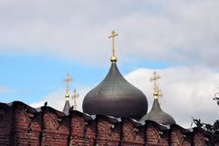 Don Icon-Kloster in Moskau Stockbild