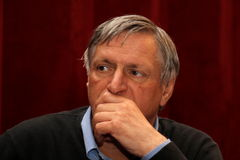 Don Luigi Ciotti Images libres de droits