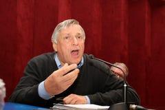Don Luigi Ciotti Fotografia Stock Libera da Diritti
